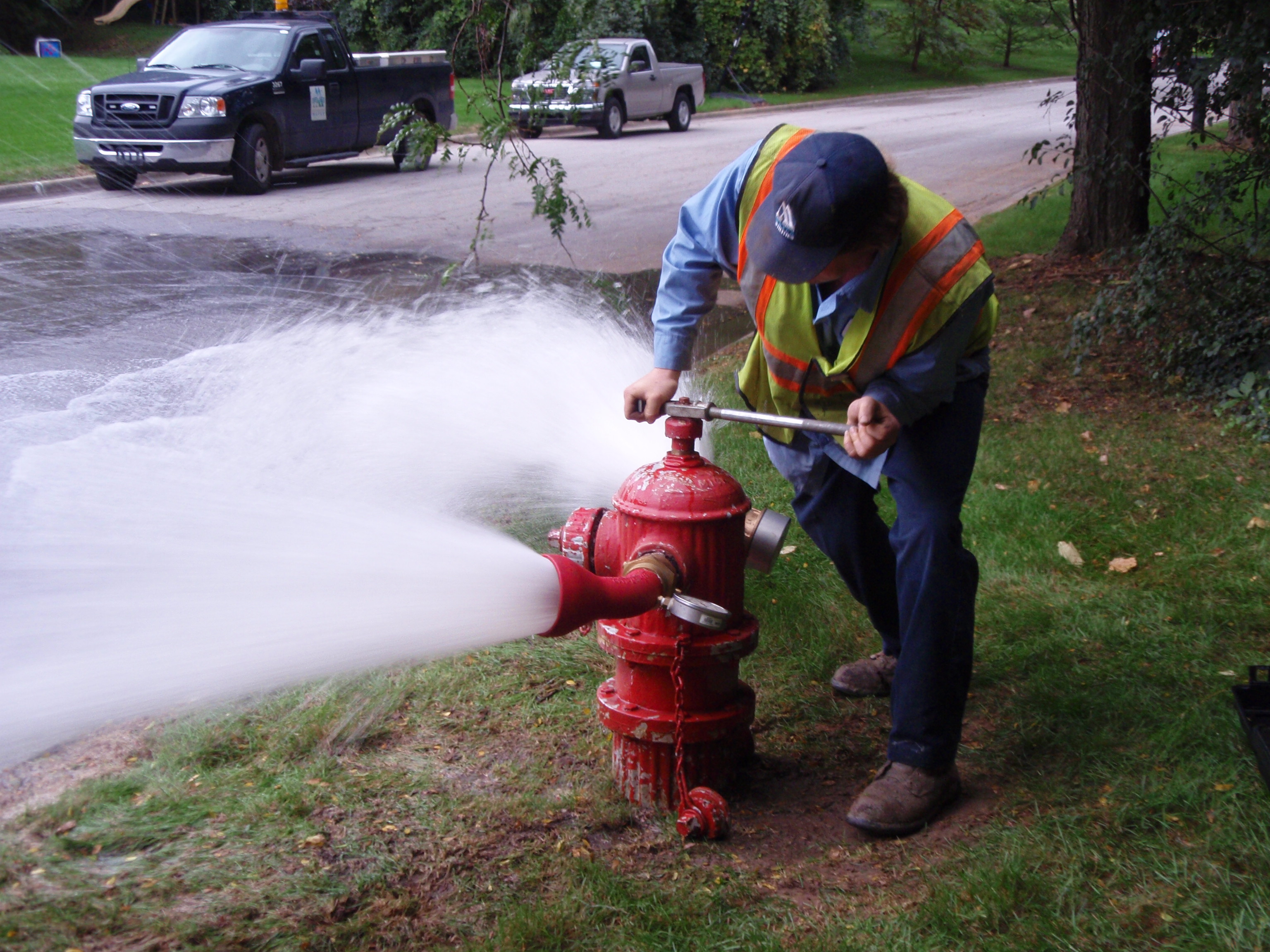 Flow Testing And Hydrant Flushing Begins On Monday